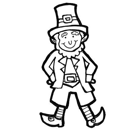 450x450 How To Draw Leprechauns With Easy Step By Step Drawing Lesson