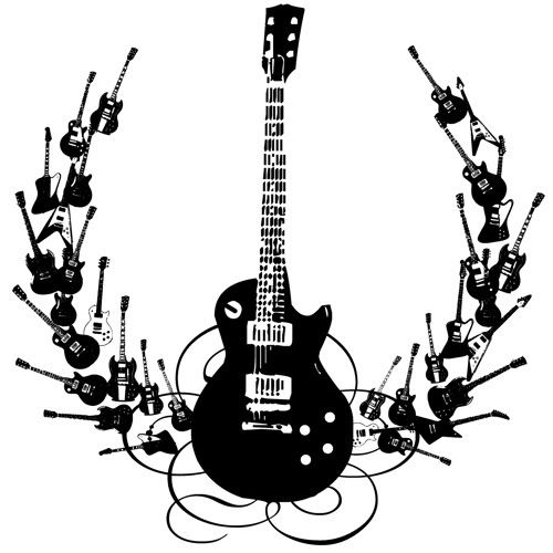 The Best Free Gibson Drawing Images Download From 50 Free Drawings