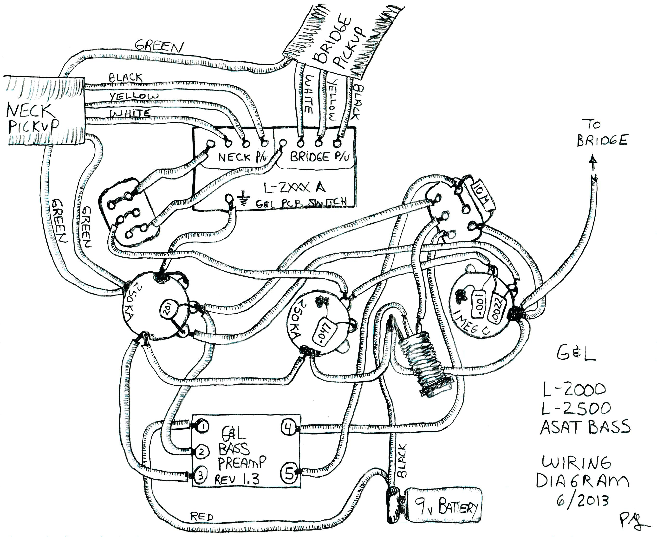 Les Paul Drawing At Free For Personal Use 1959 Wiring Diagram 2729x2232 3 Pickup Standard Download Of Six