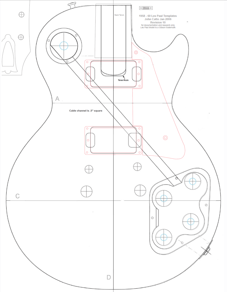 Best Gibson Les Paul Headstock Template Images 1958 Wiring Diagram Drawing At Getdrawings Com Free For Personal Use
