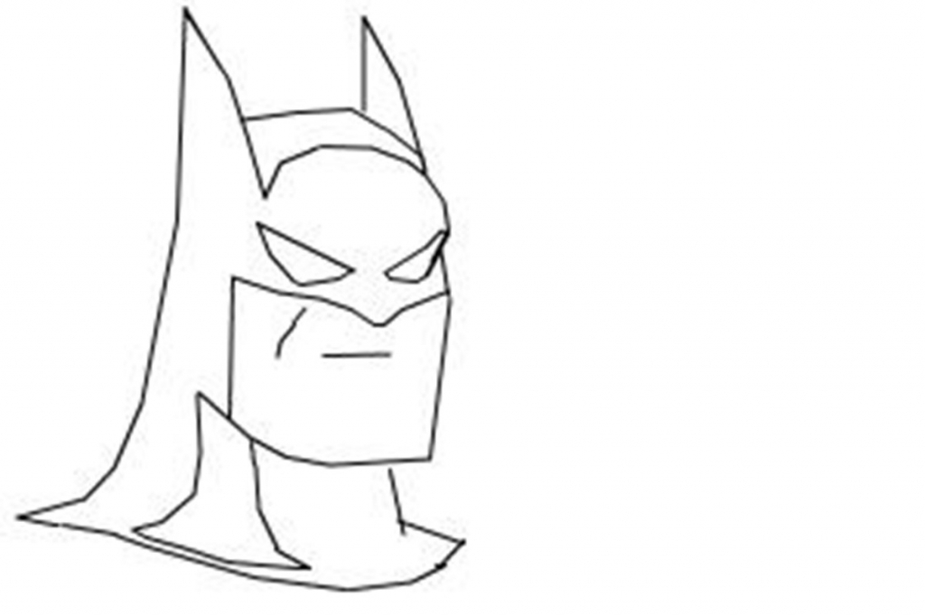 1024x682 Batman Easy Drawing How To Draw Batman Young Justice Video Lesson