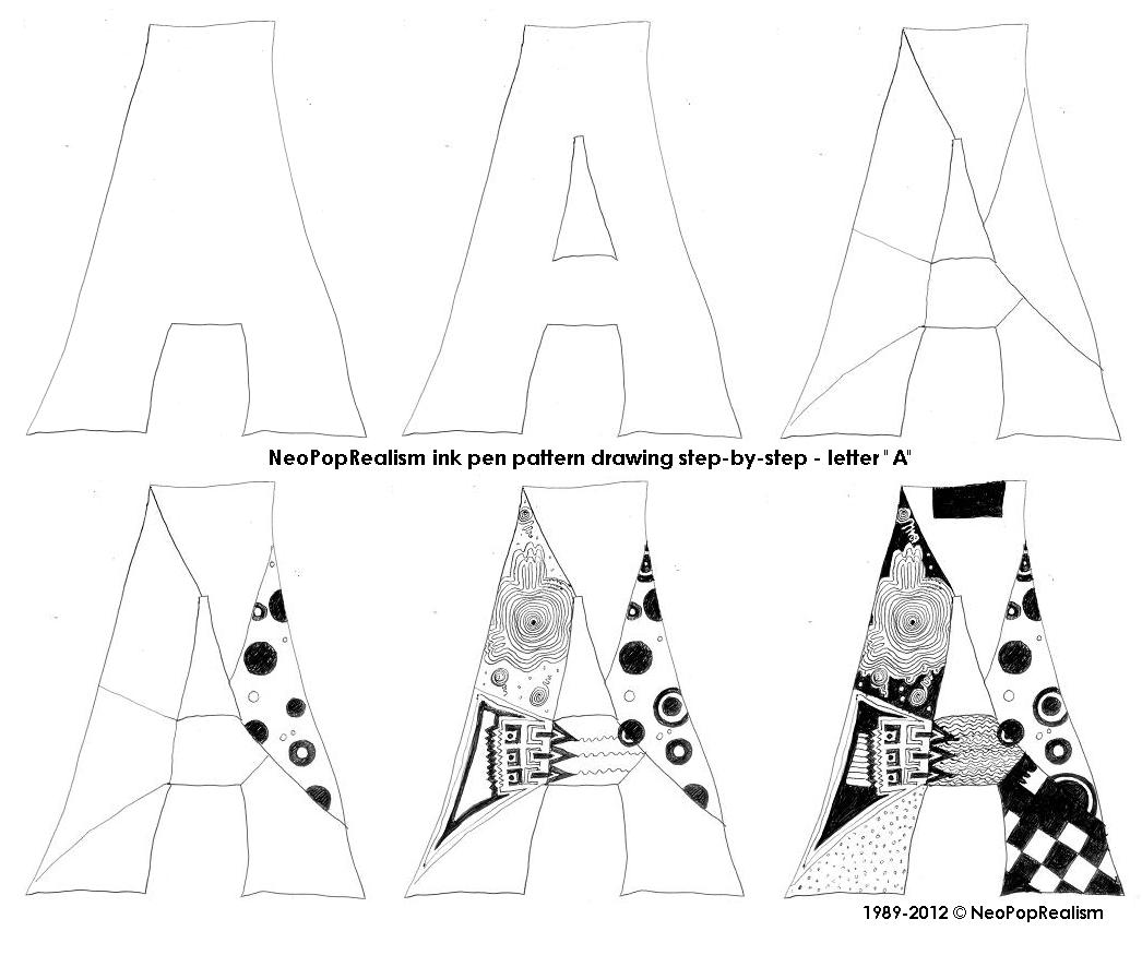 1046x886 Neopoprealist Alphabet, 9gr.1 6, A Letter Neowhimsy A Art
