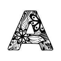 200x200 Alphabet Alphabets Design Designs Pattern Patterns Creative