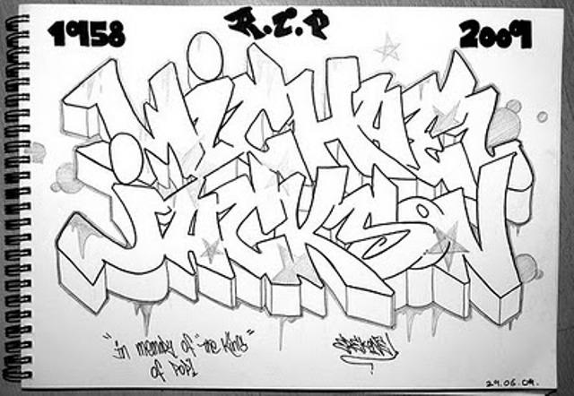 640x442 Graffiti Soul Drawing Sketches Graffiti Letters Michael Jackson