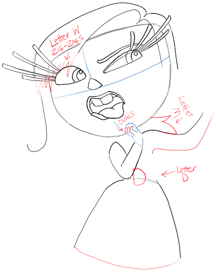700x884 How To Draw Disgust From Inside Out With Easy Step By Step Drawing