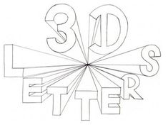 235x179 Drawing 3d Letters With One Point Perspective Tutorial For Kids