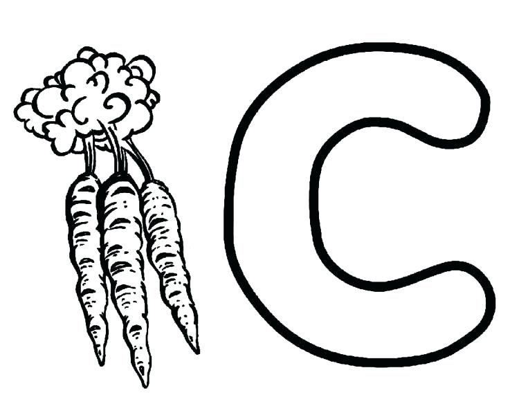 Letter C Drawing At GetDrawings.com