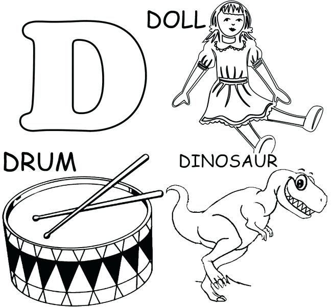 650x600 D Coloring Pages Letter R Coloring Pages Color By Number Letter R