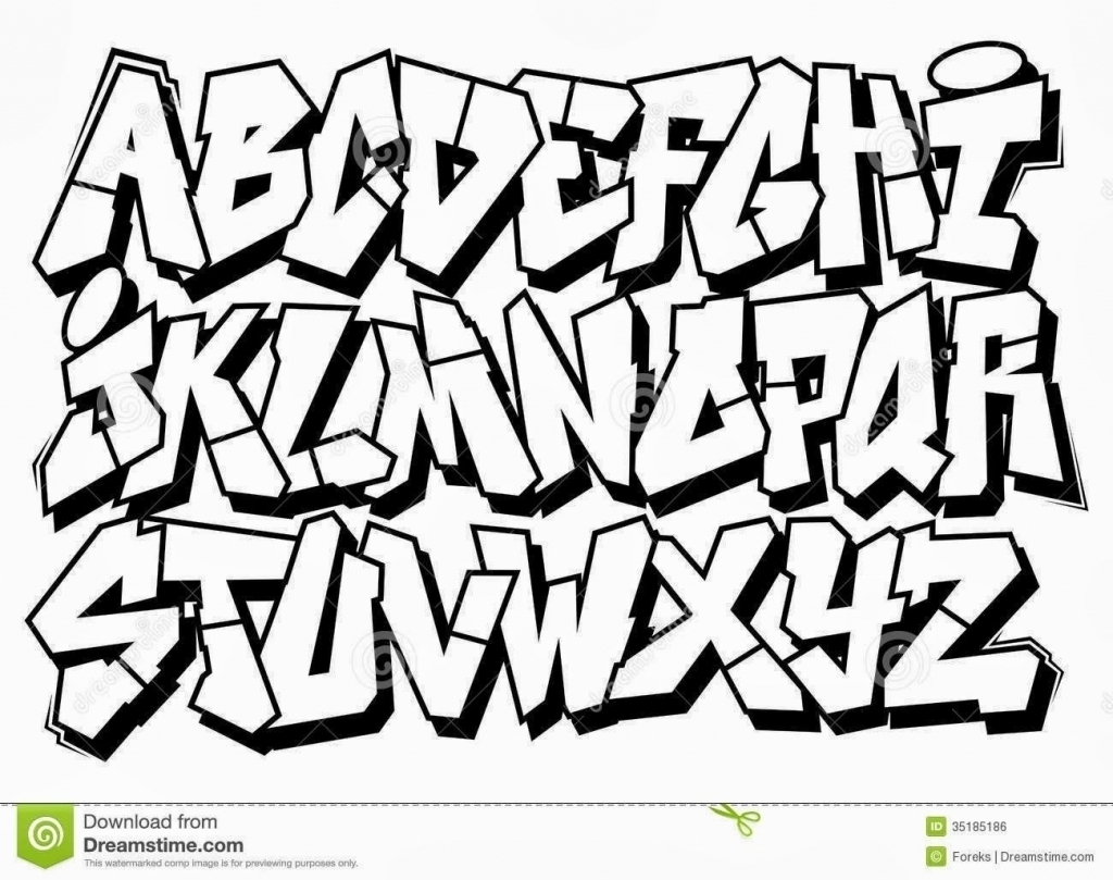 1024x809 How To Draw My Name In 3d Graffiti Letter K How To Draw Graffiti