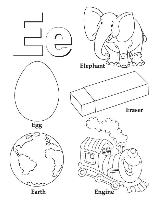 612x792 Epic Letter E Coloring Pages 48 In Print Coloring Pages