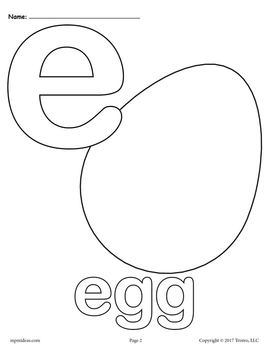 541x700 Letter E Alphabet Coloring Pages