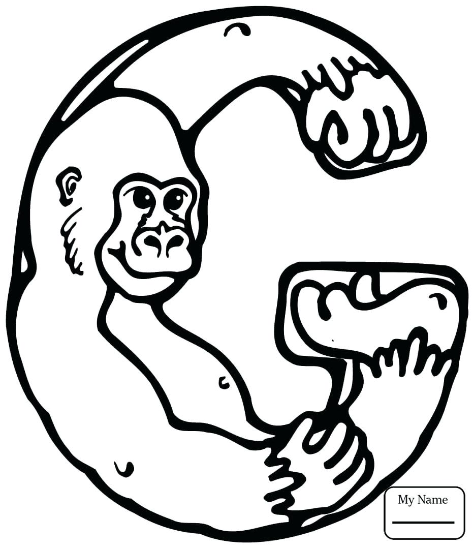 933x1080 Coloring Letter G Coloring Pages Click The Sign Language