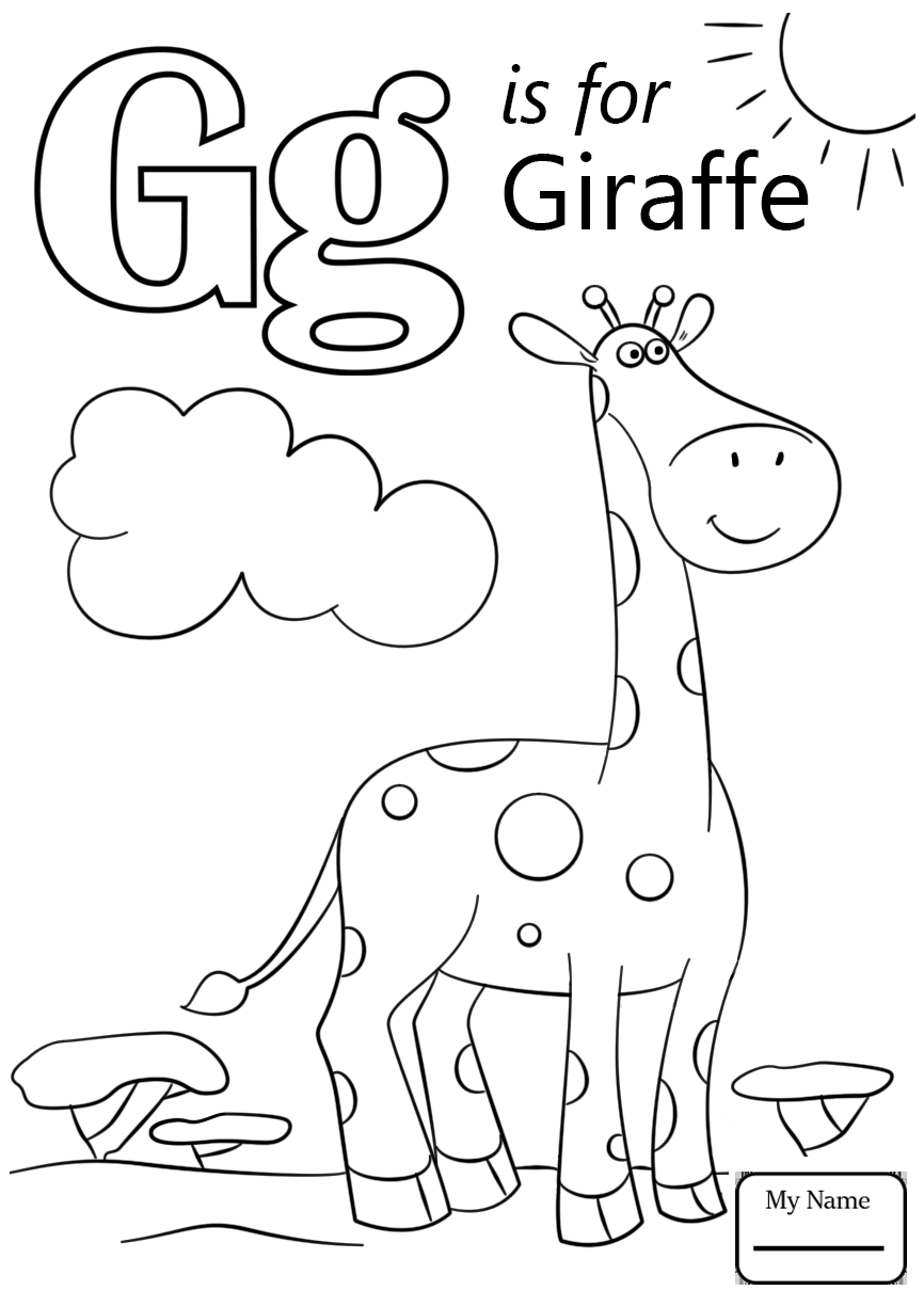 866x1224 Coloring Pages Letter G Is For Garden Letter G Letters