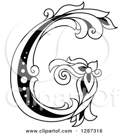 450x470 Letter G Clip Art