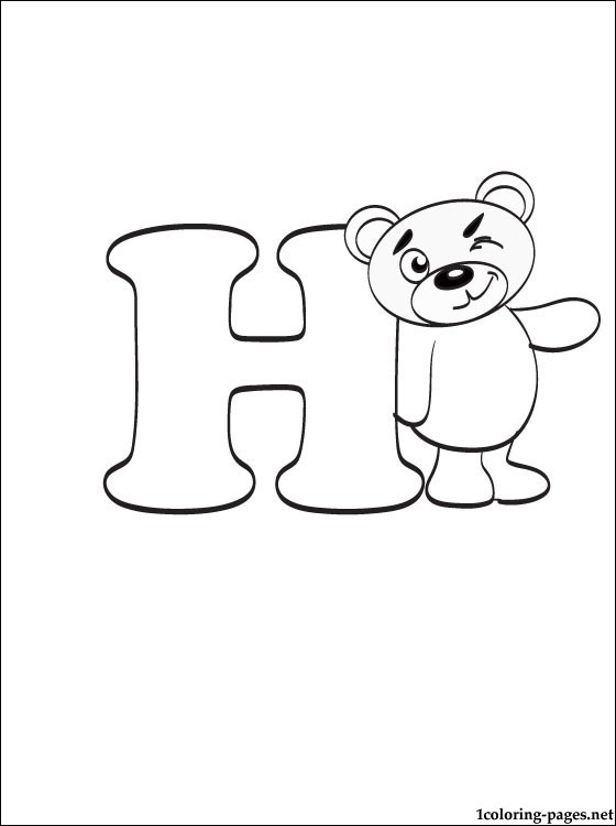 letter h drawing at getdrawings com