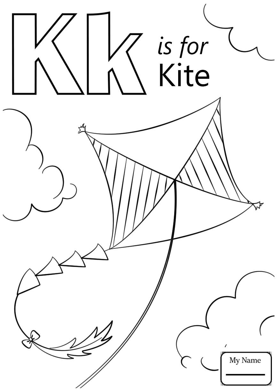 866x1224 Free Coloring Pages Letter A Copy Alphabet Letter K Coloring Page