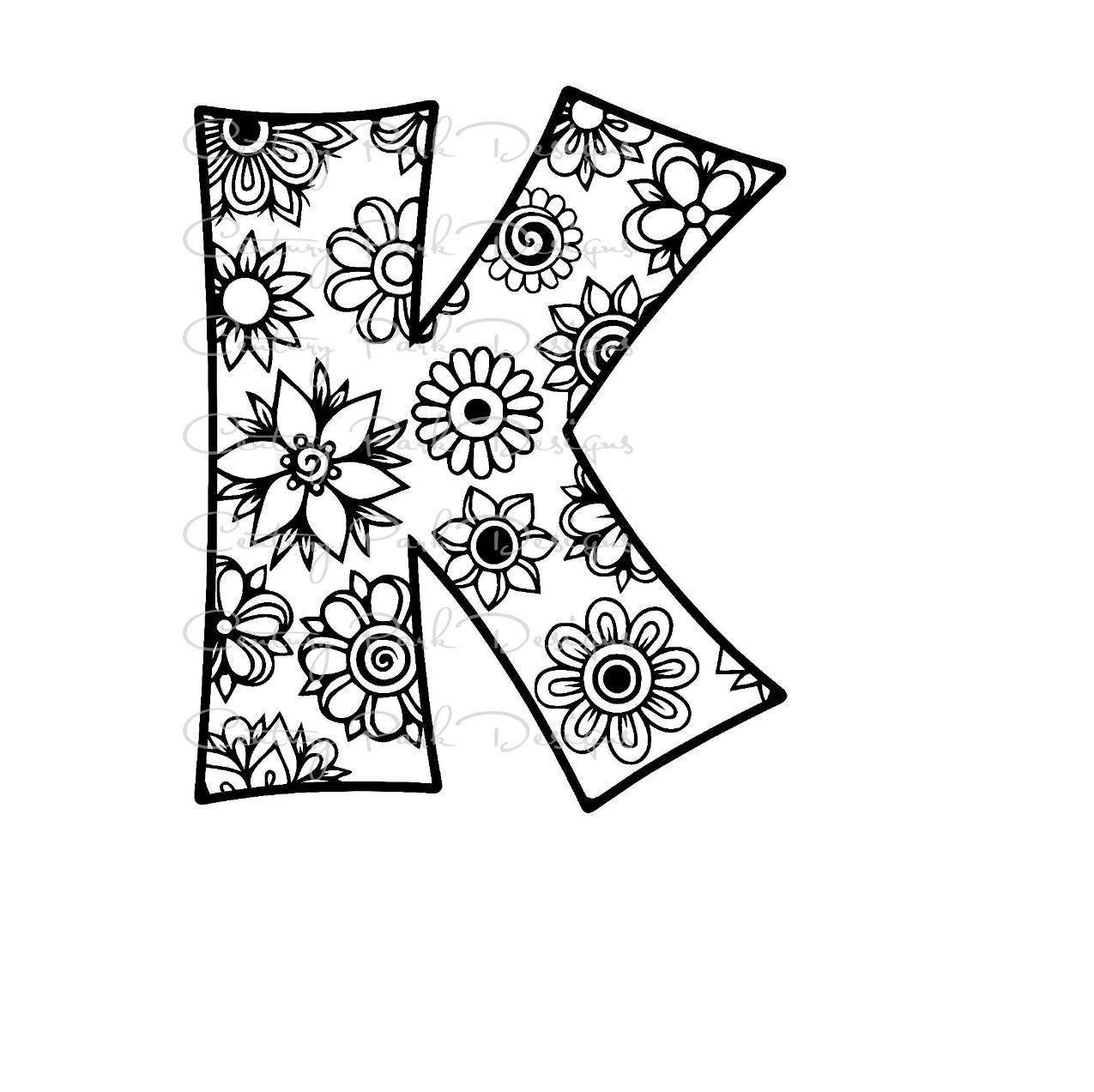 Letter K Drawing at GetDrawings.com | Free for personal use Letter K ...