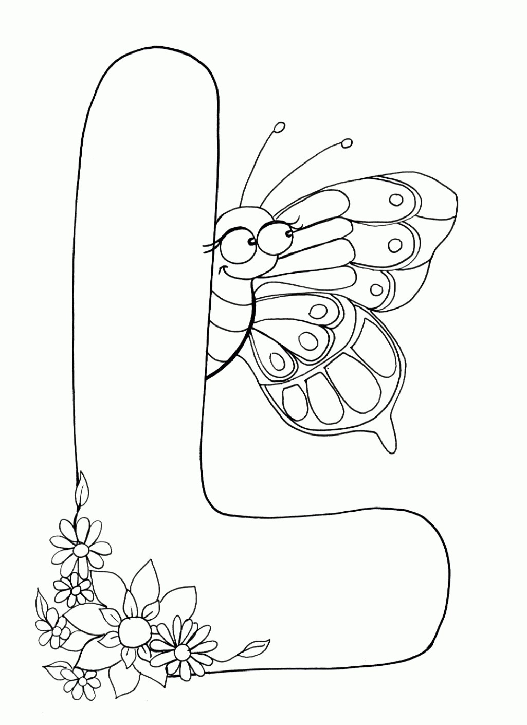 1025x1410 Free Coloring Pages Letter A Fresh Free Coloring Pages Letter L