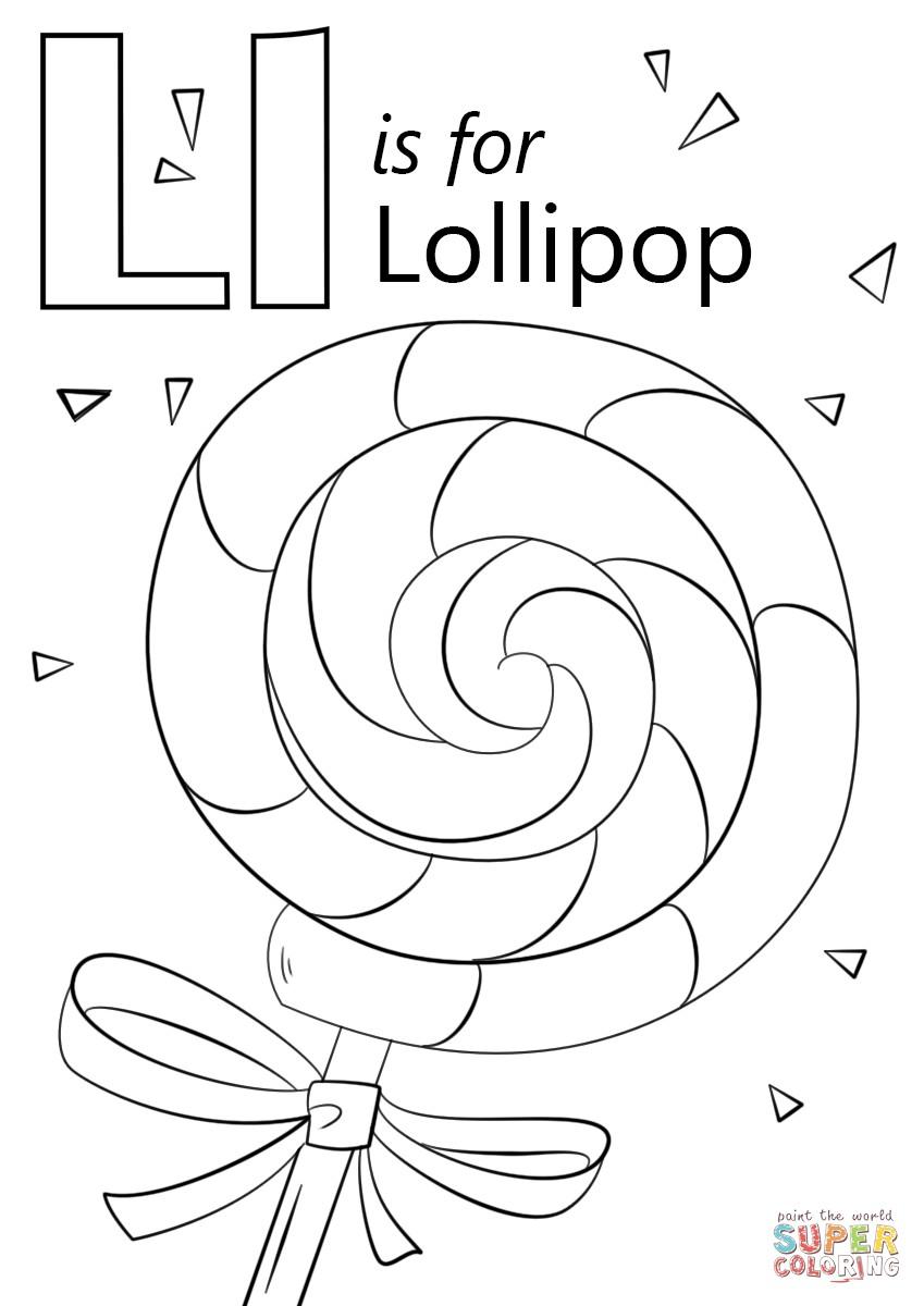849x1200 Free Coloring Pages Letter A Fresh Letter L Alphabet Coloring