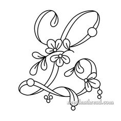 236x236 Monogram For Hand Embroidery Letter L Hand Embroidery, Hand