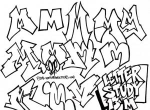 300x220 The Letter M In Ghetto Graffiti Letters