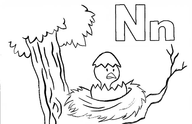 Letter N Drawing At Getdrawings Free For Personal Use. 650x422 Letter N Alphabet Adventure. Worksheet. Capital Letter N Worksheet At Mspartners.co
