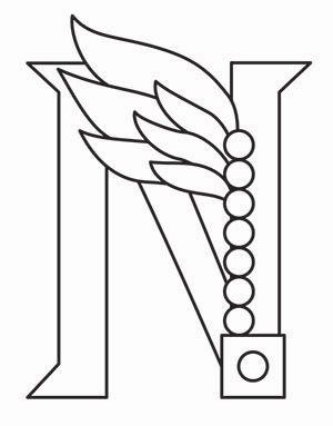 300x383 Steampunk Letter N
