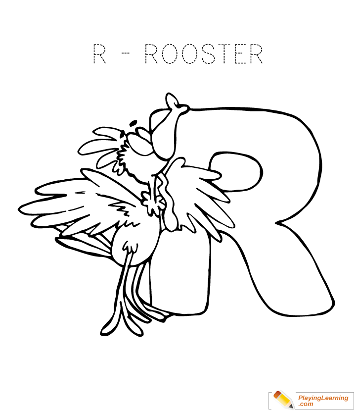 720x830 Alphabet Coloring Letter R Coloring Page For Kids