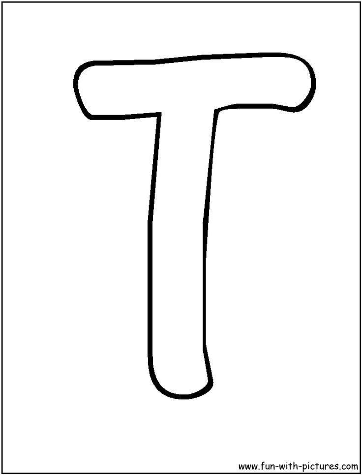 736x966 Letter T Coloring Pages