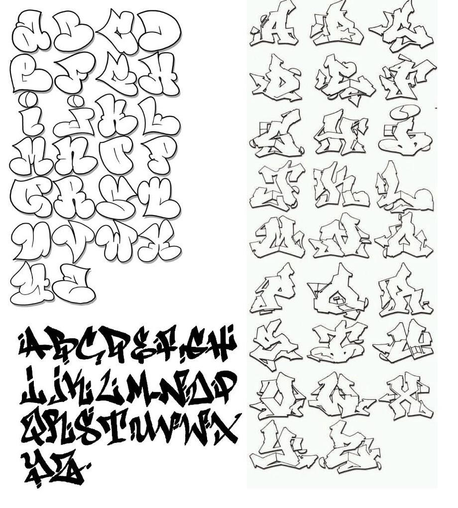 920x1021 How To Draw Cool Graffiti Letters Az Cool Graffiti Lettering A Z