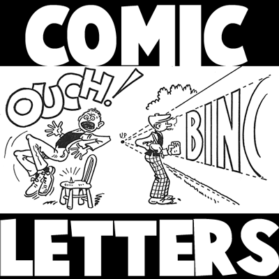 400x400 Drawing Letters Amp Lettering In Comics Amp Comic Strips Lesson