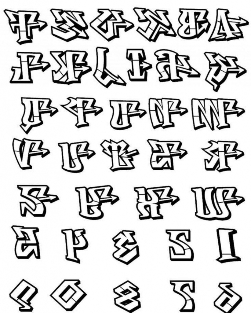 822x1024 How To Draw 3d Alphabet How To Draw 3d Alphabet Letters