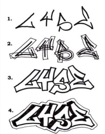 346x441 The Ultimate Guide On How To Draw Beautiful Graffiti Letters