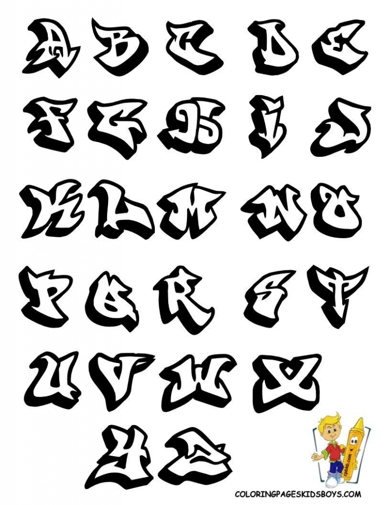 791x1024 Drawing Graffiti Letters A Z How To Draw Graffiti Letters A Z