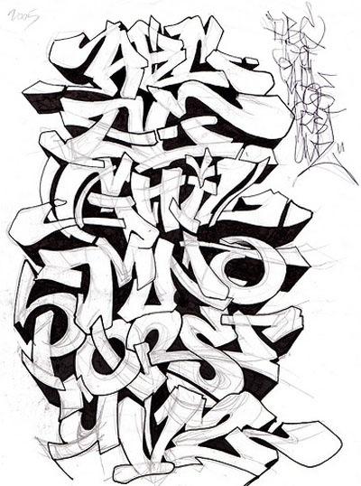 400x538 Graffitti, Street Art, Names, Letters, Alphabet, Paint, Spray Cans
