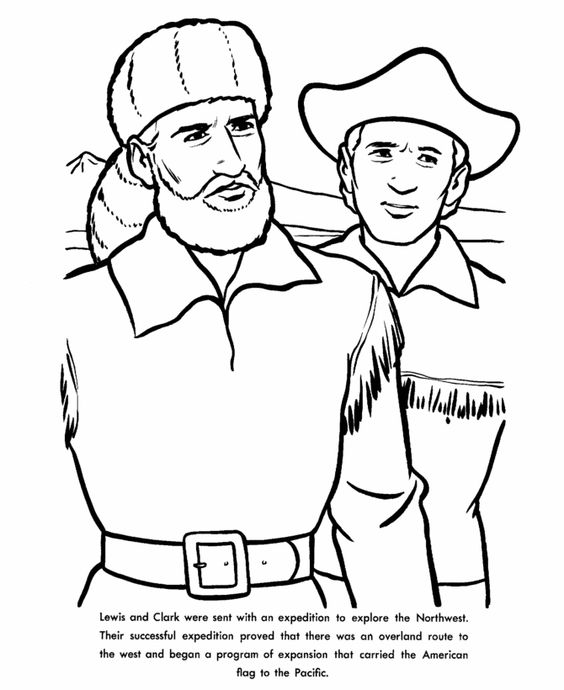 Lewis And Clark Drawing at GetDrawingscom Free for personal use