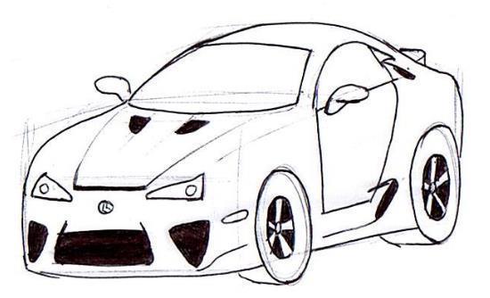 550x334 Learn To Draw The Best Cartoon Cars Junior Car Designer