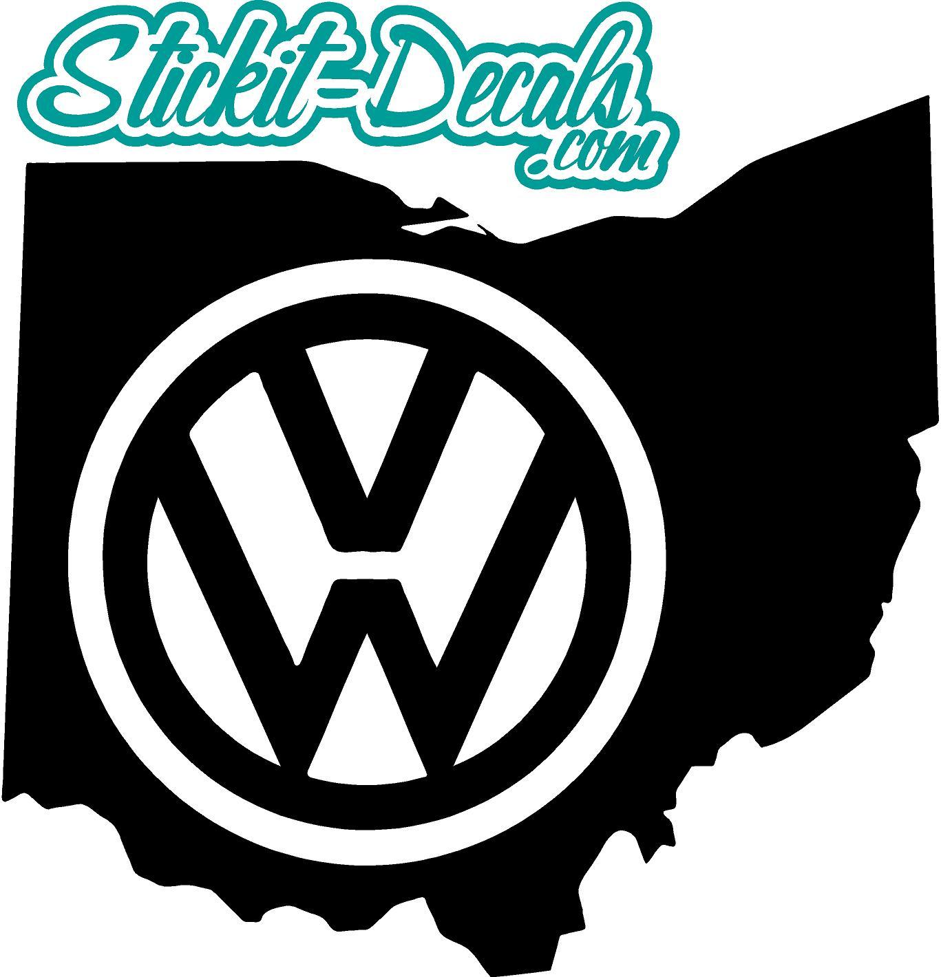 1367x1420 Ohio Silhouette Car Logos Volkswagen, Vw, Audi, Acura, Honda