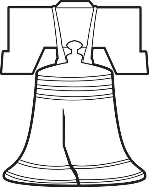 474x595 Liberty Bell Coloring Page Libretas