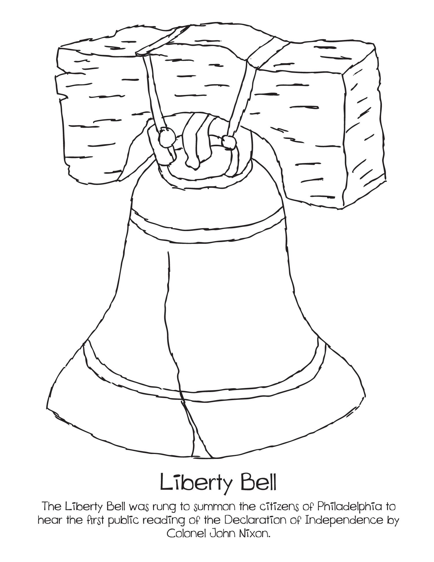 Liberty Bell Drawing at GetDrawings.com | Free for personal use ...