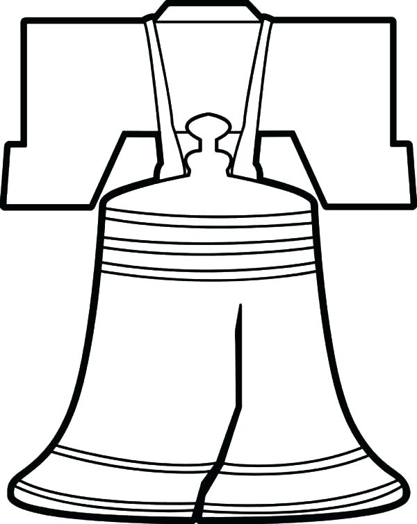 600x755 Pennsylvania Coloring Page Liberty Bell Coloring Pages