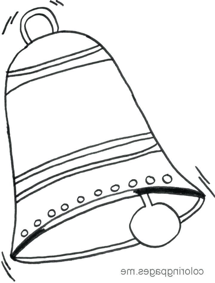 720x946 Bell Coloring Pages Elegant Liberty Bell Coloring Page About