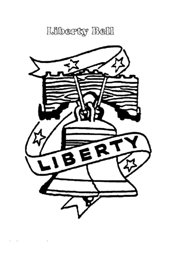 600x880 Drawing Liberty Bell Coloring Pages Batch Coloring