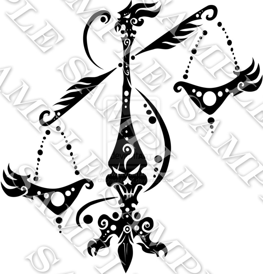 875x913 Beautiful Art Of Libra Zodiac Tattoo Design Ink It