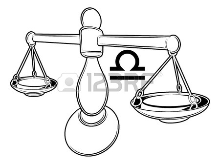 450x336 Illustration Of Libra The Scales Zodiac Horoscope Astrology Sign