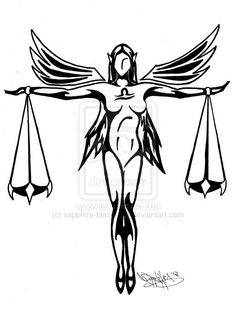 236x313 Being A Libra Libra Tattoo, Tattoo And Tatting