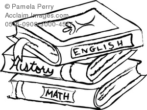 300x225 Library Book Clipart Black And White