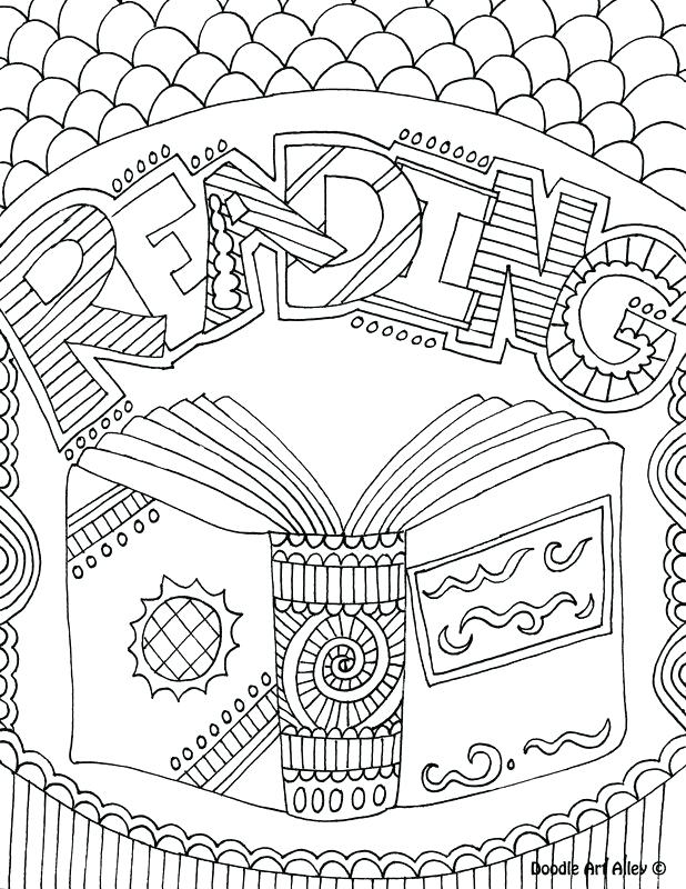 618x800 Library Coloring Pages Printables Books Coloring Page Top 10