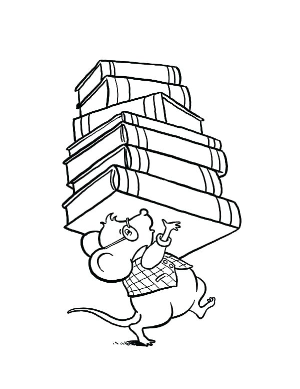 600x776 Library Coloring Pages Printables Coloring Pages Books Library