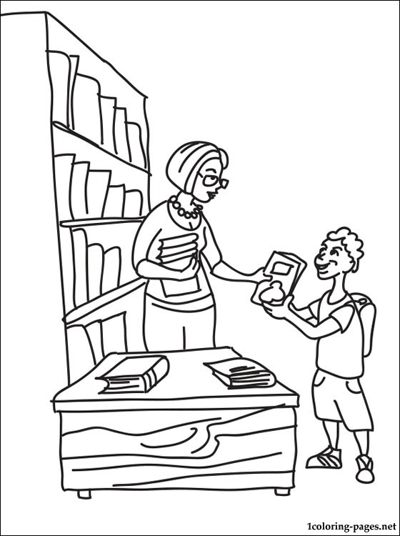 560x750 Breathtaking Library Coloring Pages 92 In Line Drawings